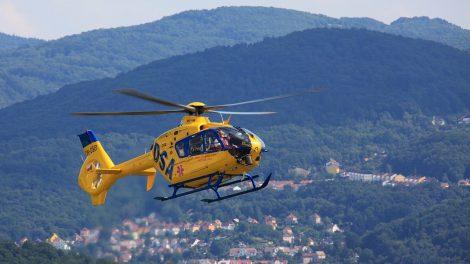 Landarzt im Hubschrauber