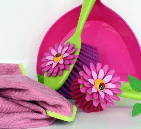 Utensilien für den Frühjahrsputz