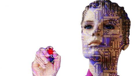 Frau und Technik
