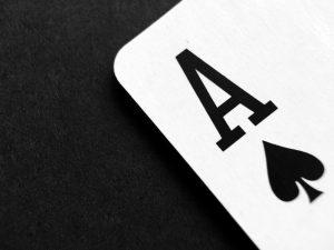 Spielkarte Ass